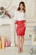 skirt-leather-red-full