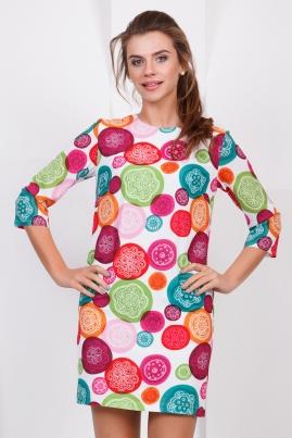 Платье Круги