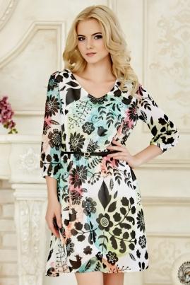 Платье Весенний принт