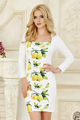 Платье Лимончики