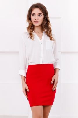 skirt-mini-pencil-red