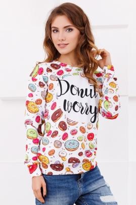 Свитшот Donut Worry