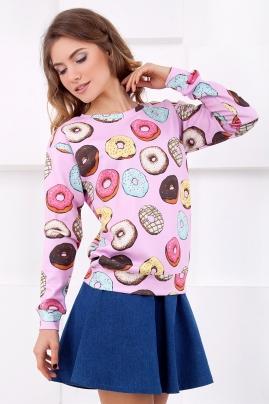 sweatshirt-pinkdonut