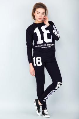 Спортивный костюм 18 (черный)