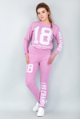 Спортивный костюм 18 (розовый)