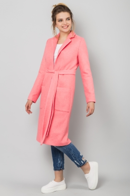 Кардиган розового цвета