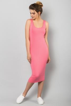 Платье-майка розового цвета