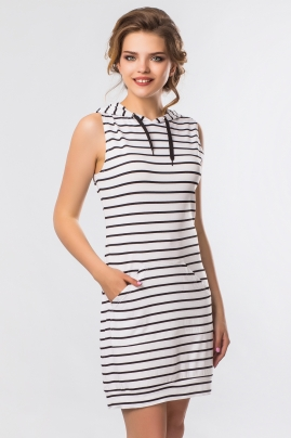 dress-viscose-white