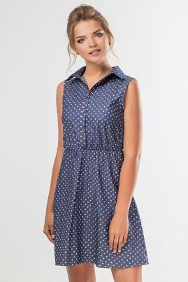 Платье-рубашка Сердечки