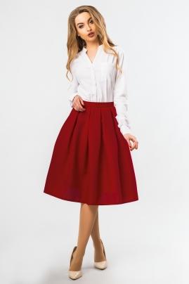 midi-skirt-brick-color