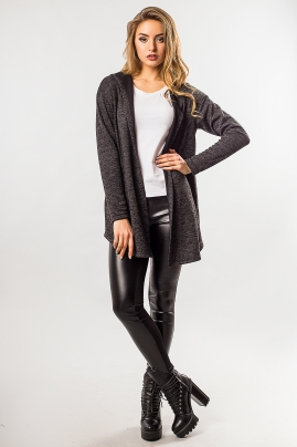 anthracite-cardigan-with-hood