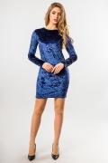 blue-dress-velor