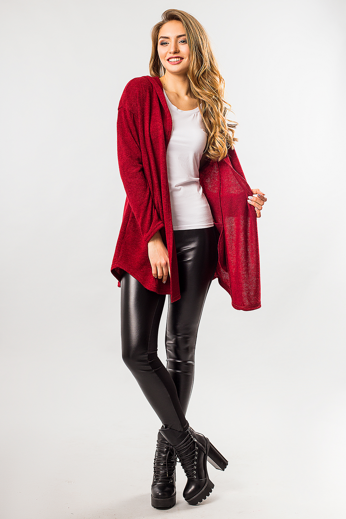 dark-red-cardigan-with-hood
