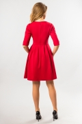 red-dress-with-battle-back