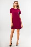 straight-burgundy-dress