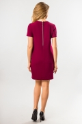 straight-burgundy-dress-back
