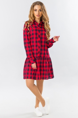 dress-shirt-frill-red-and-black-cage