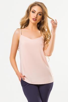 Розовая майка в бельевом стиле
