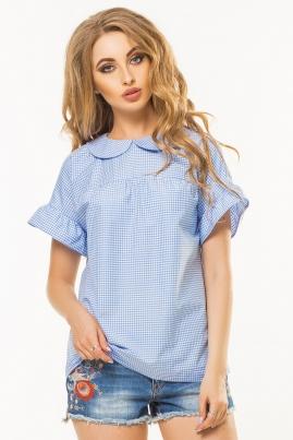 Рубашка с коротким рукавом и бантиком сзади